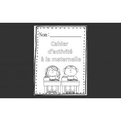 Cahier d'activité maternelle