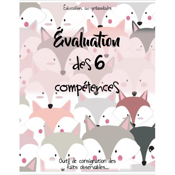 Évaluation des compétences au préscolaire- renard