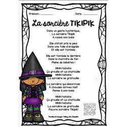 Paroles chanson - La sorcière TIKIPIK