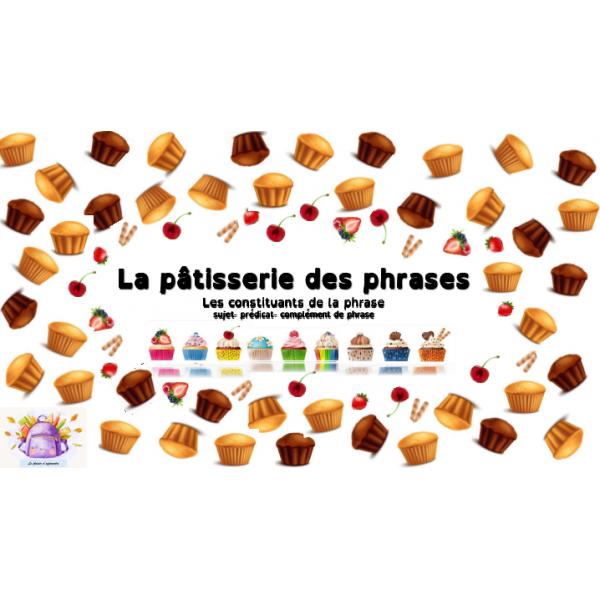 La pâtisserie des phrases