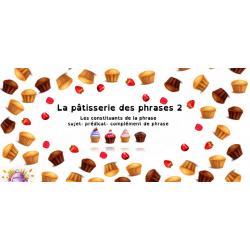 La pâtisserie des phrases 2 - printemps