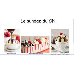 Le sundae du GN
