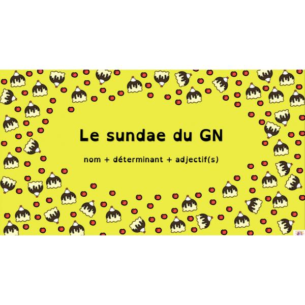 Le sundae du GN - Atelier