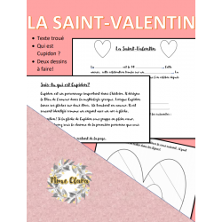 La Saint-valentin exercices