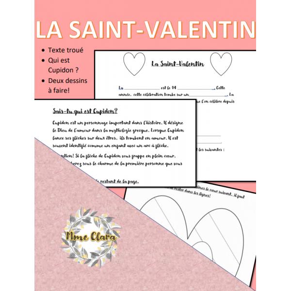 La Saint-valentin exercices