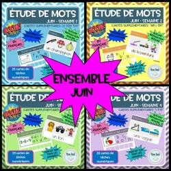 Cartes BOOM: ENSEMBLE (juin)