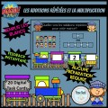 Cartes BOOM: Additions répétées et multiplication