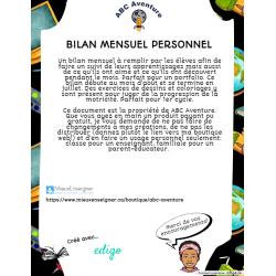 Bilan Mensuel Personnel