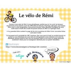 Les Mini-Livres 1: Le vélo de Rémi