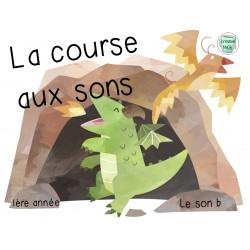 """La course aux sons """"b"""" 1re année"""