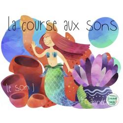"""La course aux sons """"j"""" 1re année"""