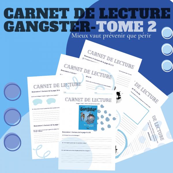 Carnet de lecture - Gangster Tome 2