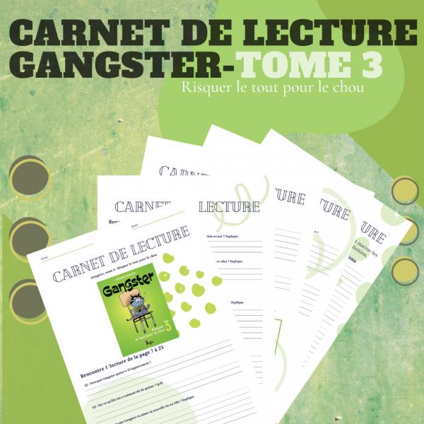 Carnet de lecture - Gangster Tome 3