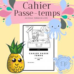 Cahier Passe-temps - 2e cycle
