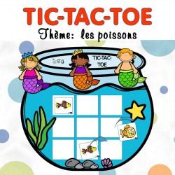 TIC-TAC-TOE: les poissons