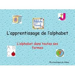 Apprentissage de l'alphabet