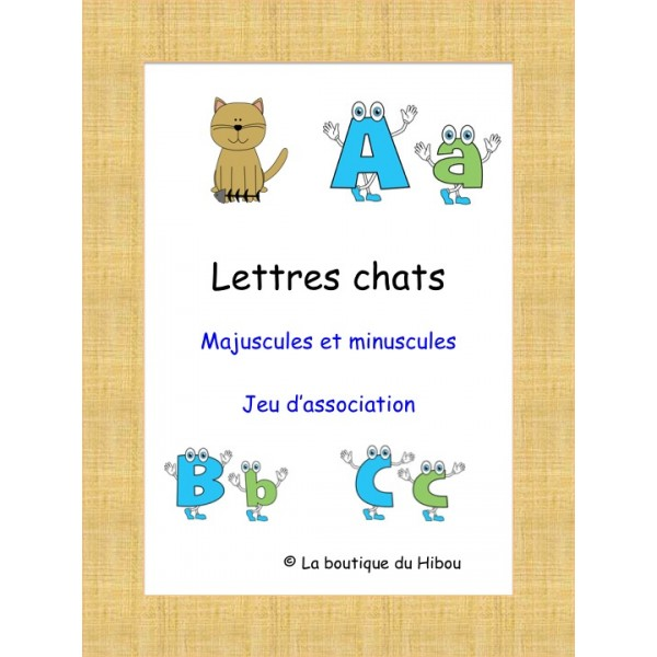 Lettres chats