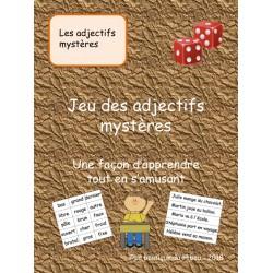 Les adjectifs mystères