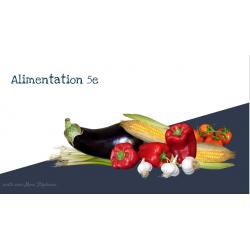 Alimentation 5e année