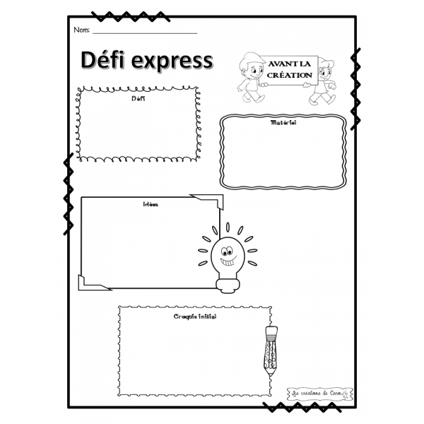 DÉFIS EXPRESS EN SCIENCES