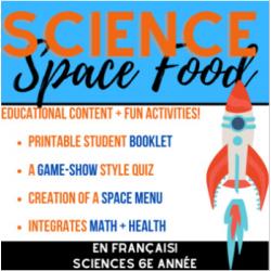 SPACE FOOD!