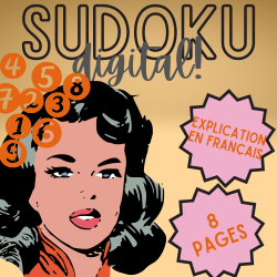 MATHS 4/5/6 ↬ SUDOKU DIGITAL