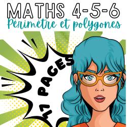 MATHS 5/6 ↬ PÉRIMÈTRE ET POLYGONES