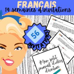 FRANÇAIS 3e CYCLE: INVITATIONS D'ÉCRITURE