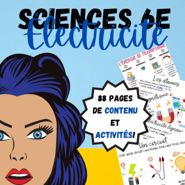 SCIENCES 6 : L'ÉLECTRICITÉ