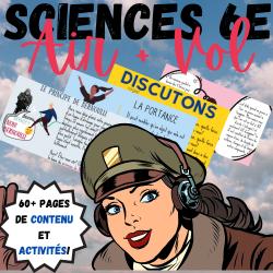 SCIENCES 6 : AIR + VOL