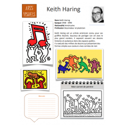 Fiche artiste Keith Haring