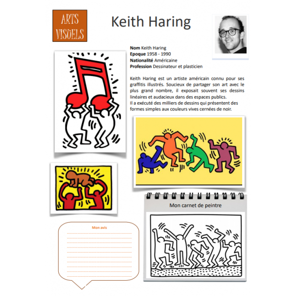 Fiche artiste Keith Haring