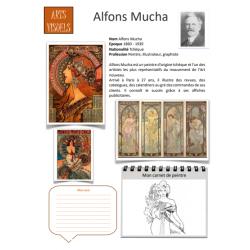 Fiche artiste Alfons Mucha