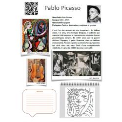 Fiche artiste Pablo Picasso