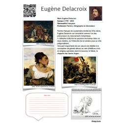 Fiche artiste Eugène Delacroix