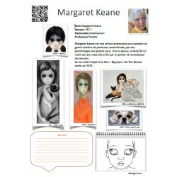 "Fiche artiste Margaret Keane ""Big eyes"""