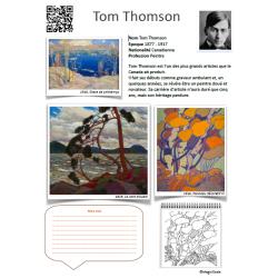 Fiche artiste Tom Thomson
