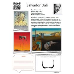 Fiche artiste Salvador Dali
