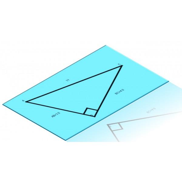 Poster droites des triangles
