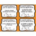 Cartes à tâches: les adverbes