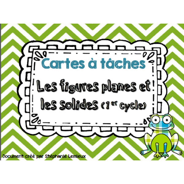 Cartes à tâches : Solides