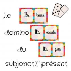 Domino subjonctif présent