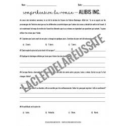 Alibis Inc. - Compréhension de lecture