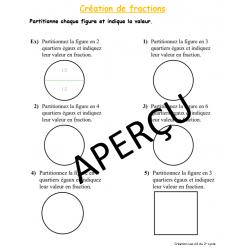 Créer une fraction