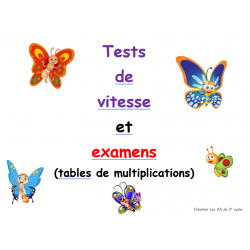 tests de vitesse (multiplications)