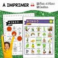 Jeu BINGO St-Patrick Numérique et PDF