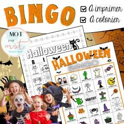Jeu BINGO Halloween (Vocabulaire)