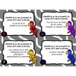 Cartes à tâches : Le groupe du verbe