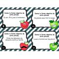 Cartes à tâches : La phrase négative