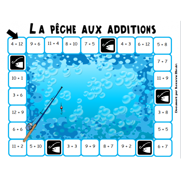 La pêche aux additions
